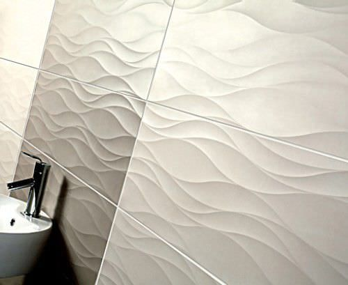 75 Best 3D Panels Images On Pinterest  Facades Wall Cladding And Awesome 3D Tiles For Bathroom Design Ideas