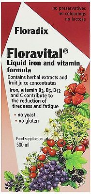 Floradix #floravital iron vitamin formula #liquid #500ml 1,  View more on the LINK: http://www.zeppy.io/product/gb/2/231756850932/