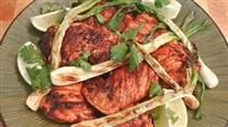 EASY tandoori chicken! Really good. Whole Foods has small containers of the tandoori seasoning by the spices in the produce area!