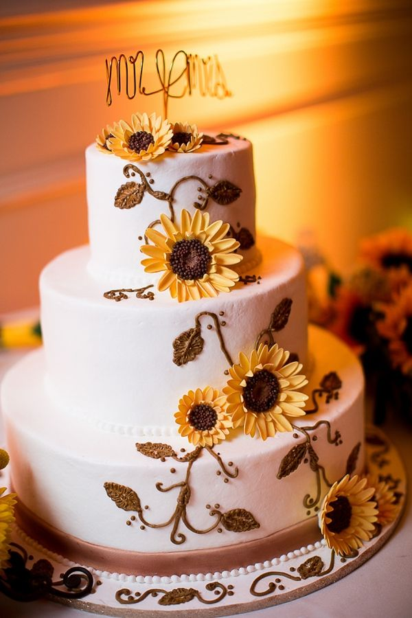 Sunflower Inspired Virginia Beach Wedding