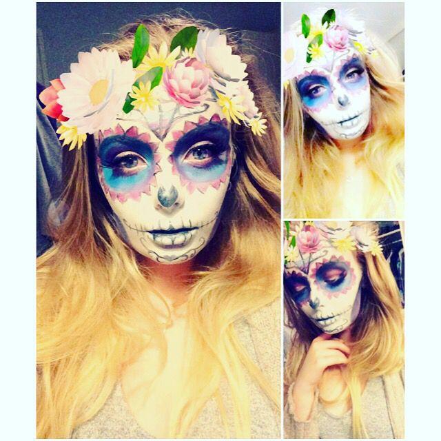 Halloween sugar skull 💀