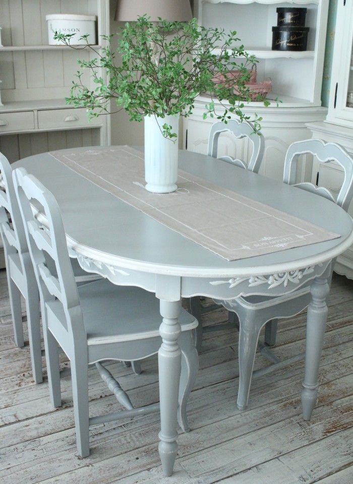 Style Rococo Rakuten Global Market New Country Corner Romance Romance Collection French G Painted Dining Room Table Chic Dining Room Shabby Chic Dining Room