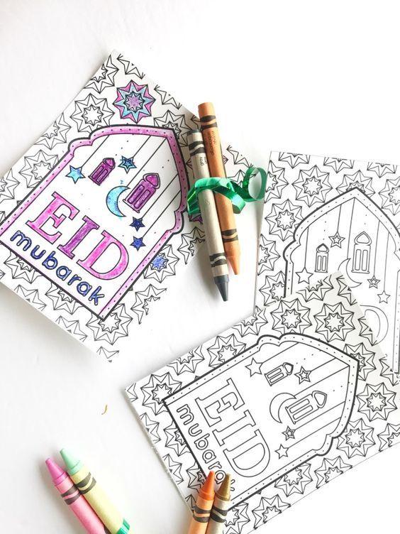 eid card ideas  simple and easy eid cards  diy eid gifts