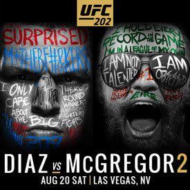 Campeones de Artes Marciales: UFC 202: DIAZ VS. MCGREGOR. (PREVIA EXTENSA)