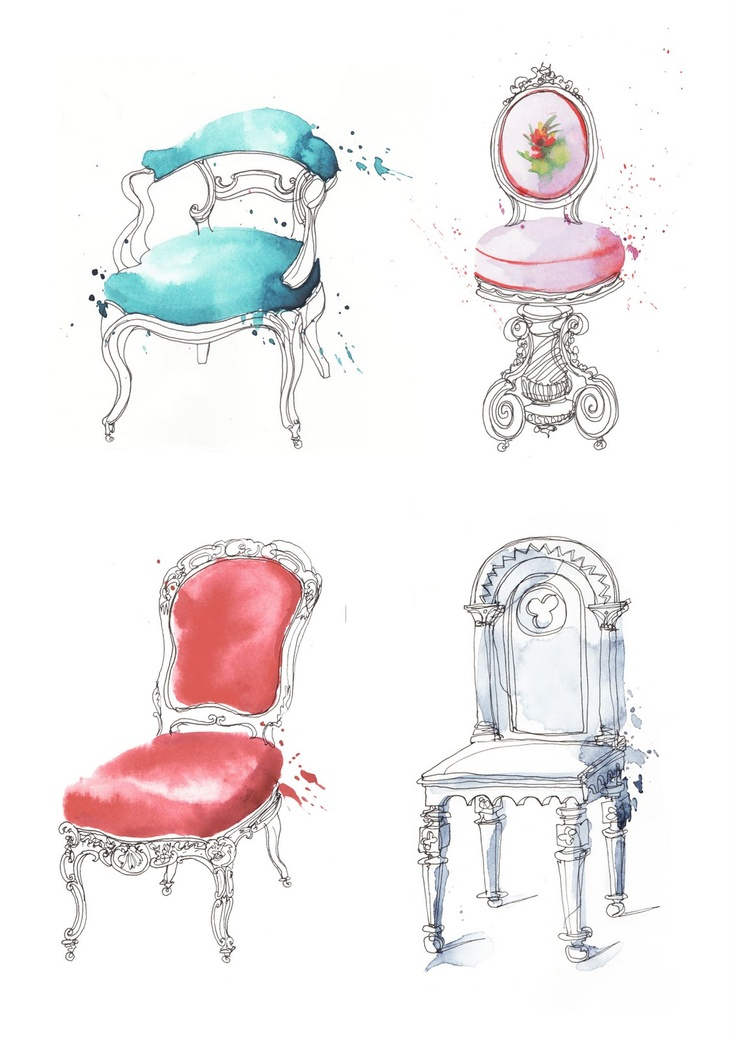 Georgina Luck - french chairs