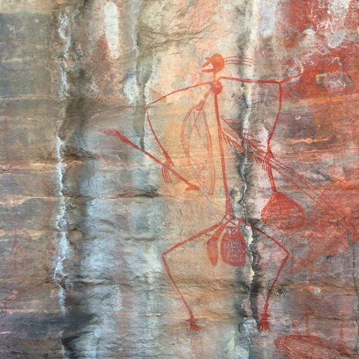 Aboriginal rock art at Ubirr, Kakadu National Park