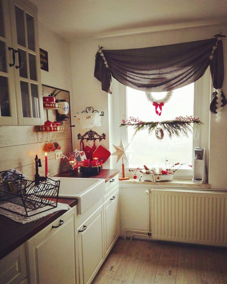 10 best Landhaus Küchen images on Pinterest Country cottage - küche landhaus weiß