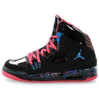 b65714abf9c06 Amazon.com: Nike Air Jordan SC-1 (GS) Girls Basketball Shoes 439655 ...