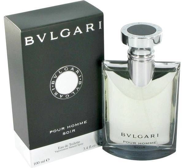 Bvlgari Pour Homme Soir by Bvlgari 1 1.7 3.4 oz EDT Spray 30 50 100 ml for Men #Bvlgari