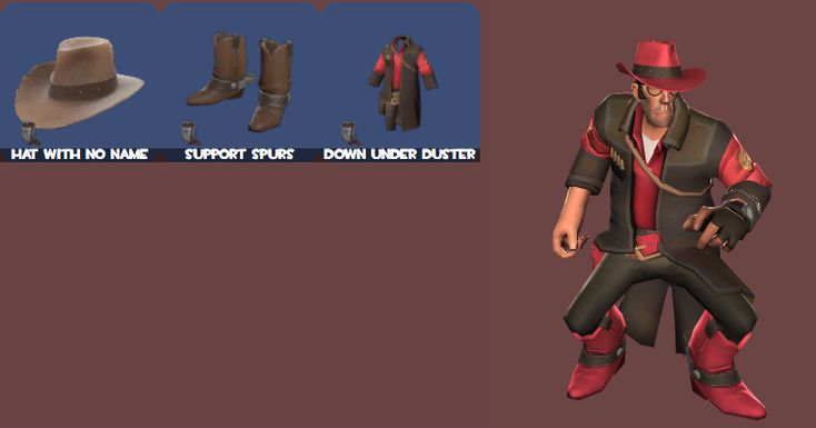 messed around in loadout.tf and made a really cool cowboy set for sniper #games #teamfortress2 #steam #tf2 #SteamNewRelease #gaming #Valve