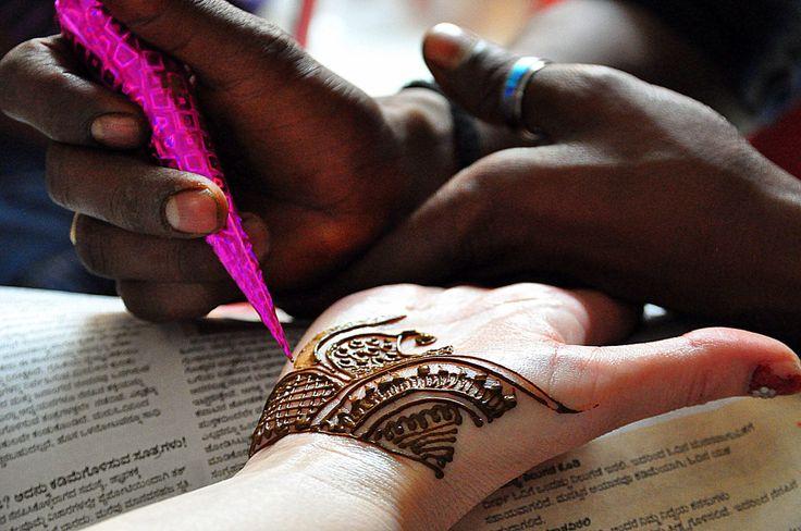 India. Henna.