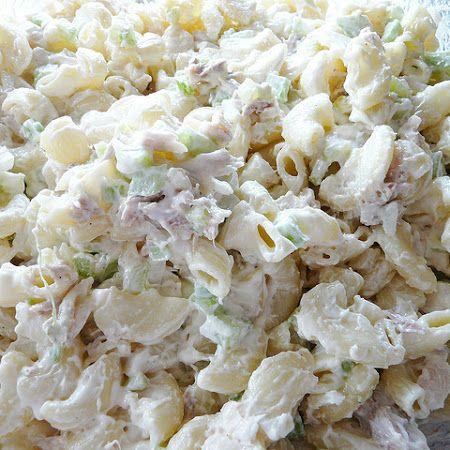 Tuna maccaroni salad