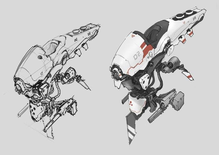 ideas-about-nothing: Speedboat concept sketch by Prog Wang