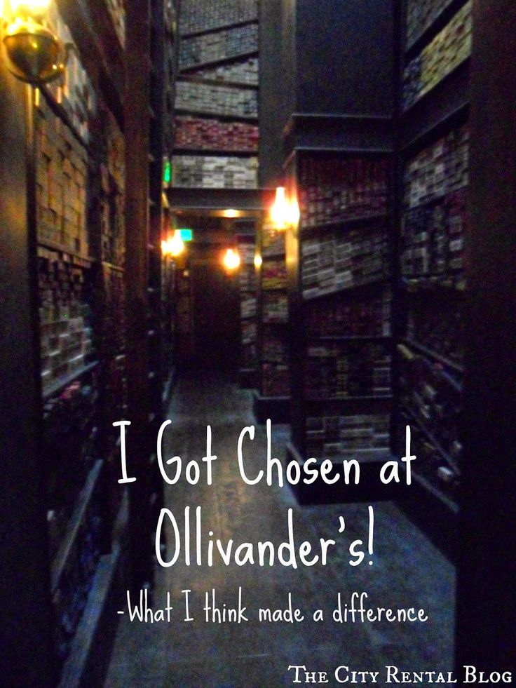 I was chosen for the magic wand experience at the Ollivander wand shop in Hogsmeade!  Our trip to Universal Orlando--here are some of my theories as to why I got chosen for this exclusive Wizarding World of Harry Potter experience!  |  The City Rental Blog