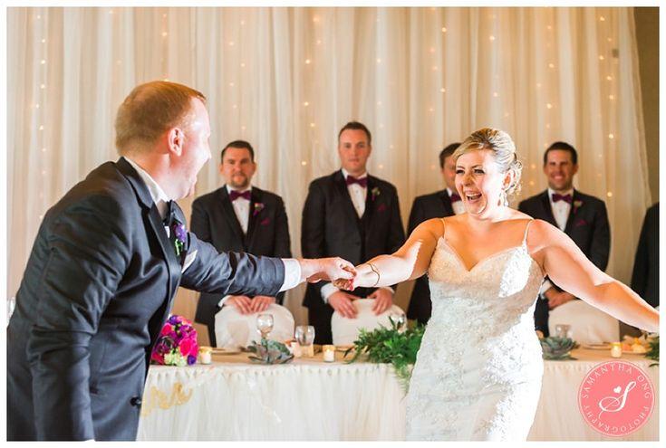 Bride + Groom First Dance | Legends on the Niagara Summer Wedding Photos: Lindsay +  Dave | © 2015 Samantha Ong Photography samanthaongphoto.com | #samanthaongphoto #niagaraweddings #niagara #weddings #weddingphotography #legendsontheniagara #niagaraparkweddings
