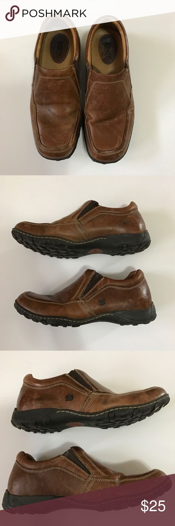 Born shoes Born shoes in brown. Do have scuffs on top, inside and around. Born Shoes Loafers & Slip-Ons