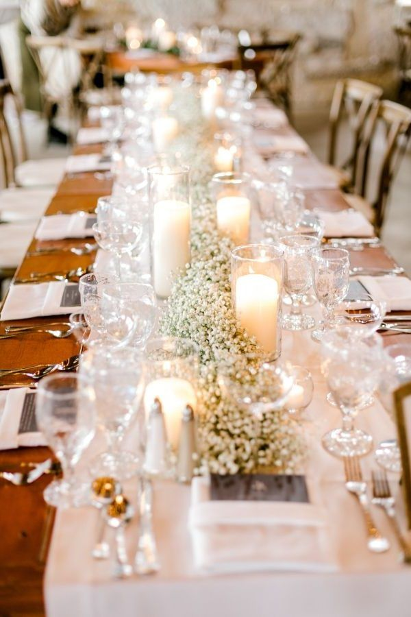 20 Budget Friendly Baby S Breath Wedding Centerpieces In 2020 Rustic Wedding Centerpieces Wedding Centerpieces Diy Wedding Floral Centerpieces