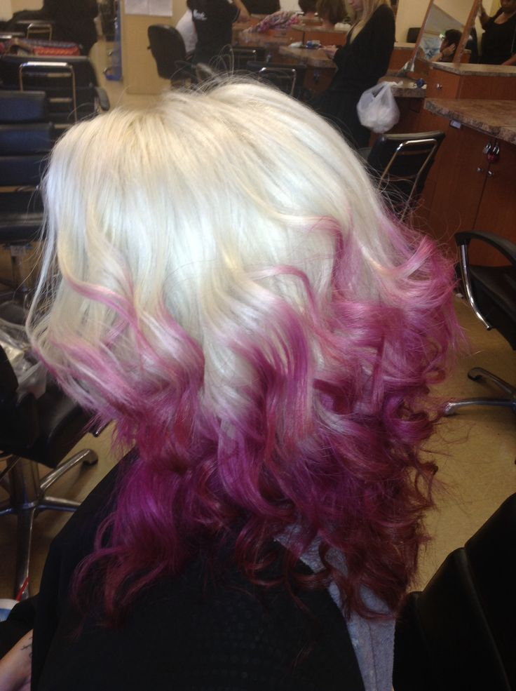 Reverse Ombre Violet Ombre Color Ombre Red Ombre Pink