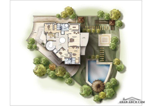 Residential Katameya Heights Cairo Private Villa