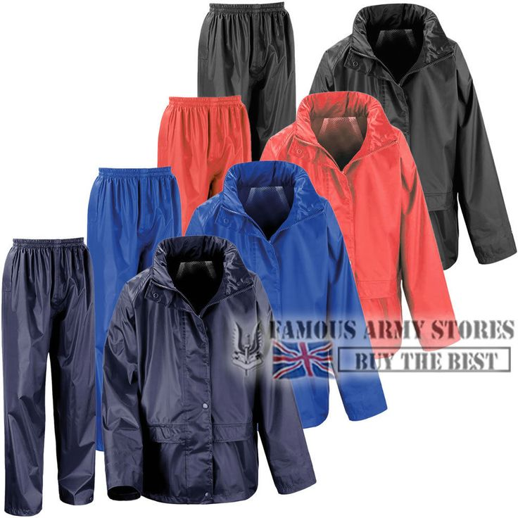 Kids childrens waterproof #rainsuit storm rain #jacket & #trousers set travel cam,  View more on the LINK: http://www.zeppy.io/product/gb/2/172088868329/