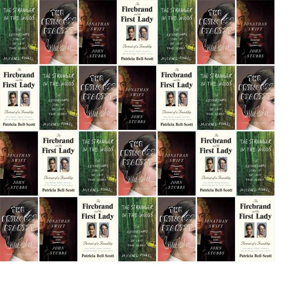 """Wednesday, March 15, 2017: The Charleston Library Society has two new bestsellers and two other new books in the Biographies & Memoirs section.   The new titles this week include """"The Stranger in the Woods: The Extraordinary Story of the Last True Hermit,"""" """"The Princess Diarist,"""" and """"Jonathan Swift: The Reluctant Rebel."""""""