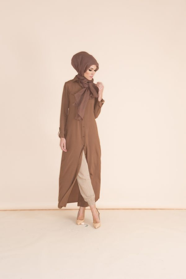 Sneak peak at the new collection...Don't miss it! www.abcollection.com - something soothing & relaxing about this brown outfit