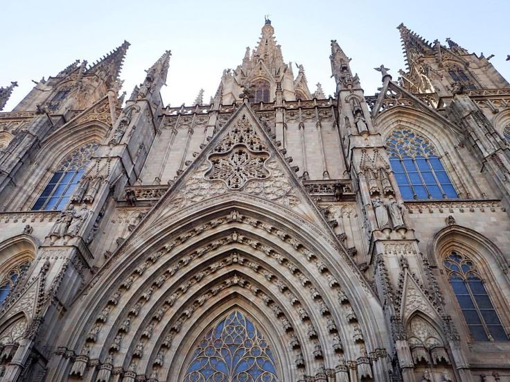 Amazing architecture! Barcelona Cathedral, such history and faith