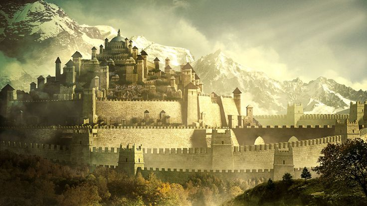 Ancient Walled Kingdom by Androgs on DeviantArt