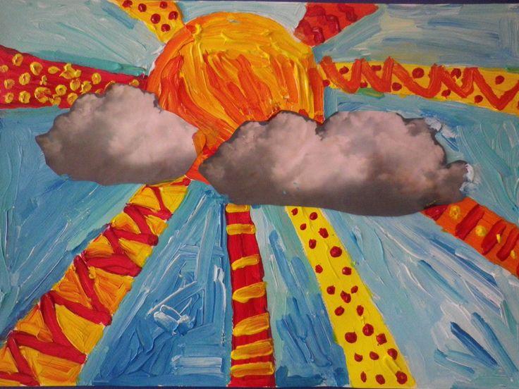 Τι κι αν έχει σύννεφα στον ουρανό; κάπου από κάτω κρύβεται ένας ήλιος και όπου να 'ναι θα στείλει τις ηλιαχτίδες του να μας ζεστάνουν! Γιατί τόσο απλά… μαθαίνουμε να σκεφτόμαστε θετικά …
