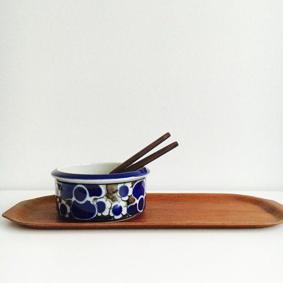 Vintage Arabia Finland ceramic oven bowl by FinnishVintageOasis