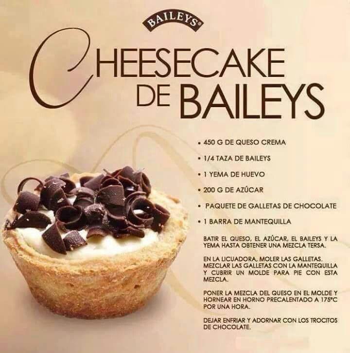 Bayleys cheesecake  (receta en español)
