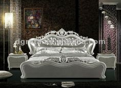2012 New Design Elegant Double Bed With Genuine Leather And Carved - Buy  Double Bed,Elegant Bed,Leather Bed Product on Alibaba.com. Camas  TalladasCama ...