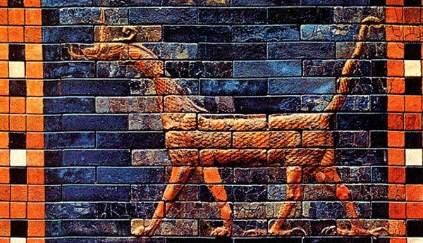 sirrush Babylon | The Sirrush Dragons guarded the Gate of Ishtar - Babylon