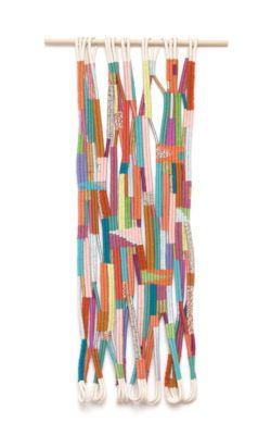 Alicia Scardetta, Jump Rope-2014, cotton wool metallic thread and mixed fibers