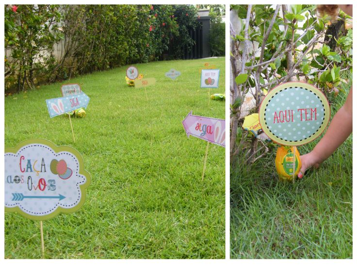 Caça aos ovos de Páscoa - Fotos: Liga da Bagunça