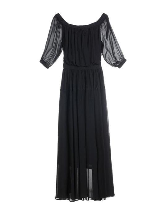 Longue robe noire, Miss Sixty, 139,30 € au lieu de 199 €.
