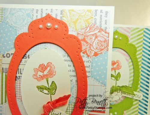 Use apothecary accents & oval framelits & Blessed Easter stamp set
