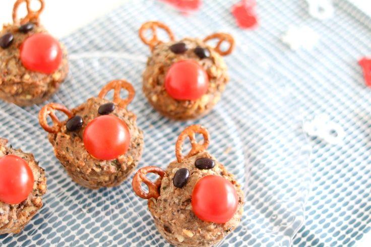 Hartige Rudolph muffins – KIDS