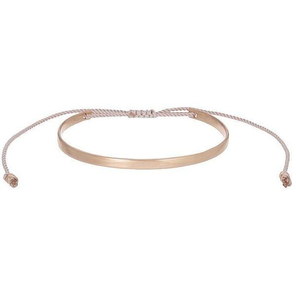 Orelia FINE Bracelet rose ($70) ❤ liked on Polyvore featuring jewelry, bracelets, rose gold, orelia, orelia jewelry, orelia jewellery, rose bangle and rose jewelry