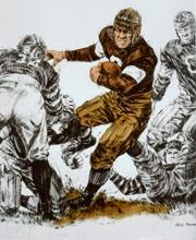 JIM THORPEHolding Pattern, Footballl Da Bears, Footballda Bears, Jim Thorpe
