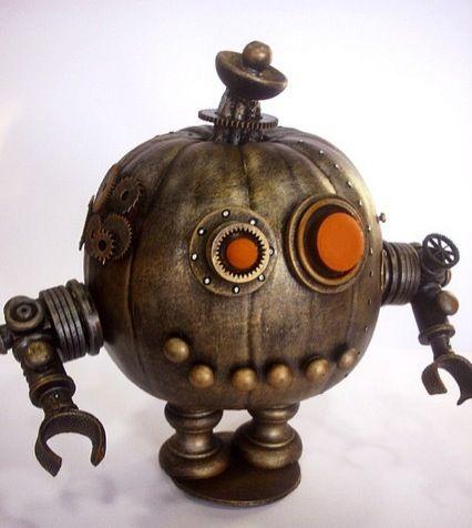 EPBOT: Steampunk Pumpkins! (Steampunkins?)