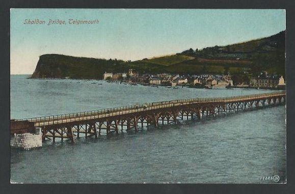 TEIGNMOUTH. Shaldon Bridge. Vintage.