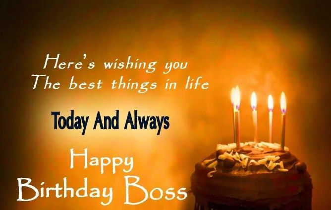Happy Birthday Wishes For Boss With Images Birthday Wishes For
