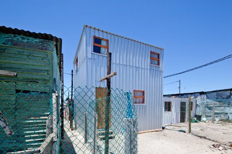 Urban-Think Tank develops housing prototype for South African slums