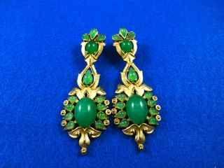 242 best TRIFARI- EARRINGS images on Pinterest   Vintage jewelry ...
