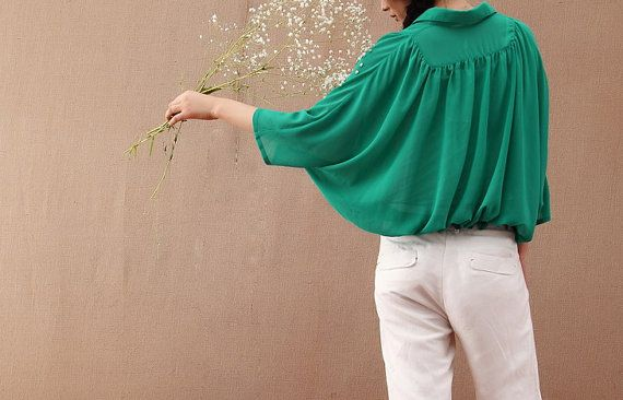 Beauty/womens clothing/plus size/petite/silk cotton shirt/elegant/graceful/2 colors/custom made on Etsy, $68.00