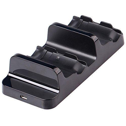 XCSOURCE Station de Charge Chargeur Double + 2 x 1200mAh Batterie de Remplacement pour Manette Xbox One Contrôleur BC493