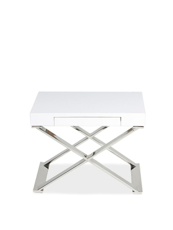 xleg side table by pangea home at gilt