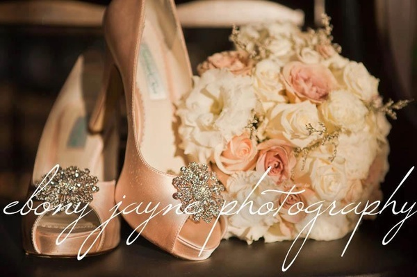 Gorgeous peach shoes and bouquet. A timeless colour choice for your wedding day. Photo compliments of ebony jayne photography, such talent please contact her for all of your photographic needs at: wedding-inspirations