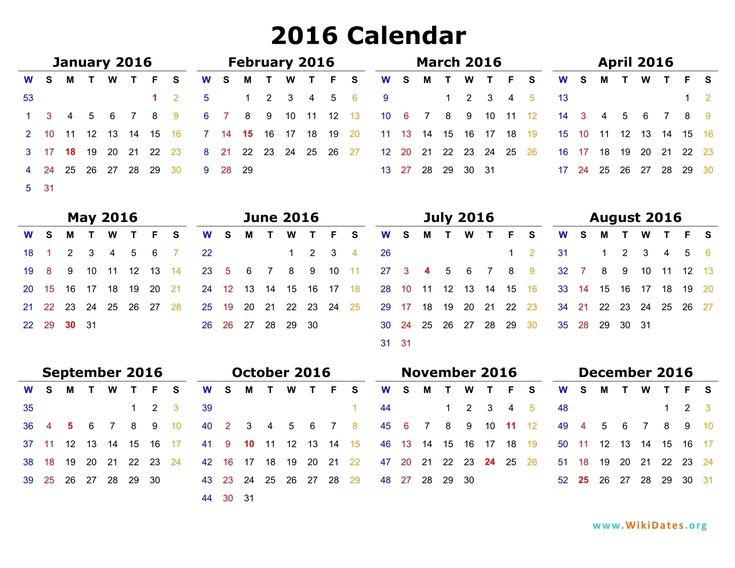 Well Created 2016 Calendar Sample Ksoleis